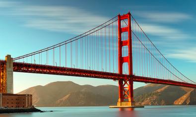 Vliegen naar San Francisco